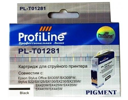 Картридж ProfiLine PL-1281 для Epson Stylus S22 SX125 SX130 SX420W SX425W, Черный