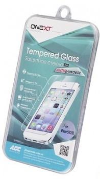Защитное стекло ONEXT для Apple iPhone 5/5C/5S/SE Антибликовое 40812