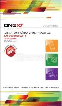 """Защитная пленка ONEXT 8"""" универсальная прозрачная 40641"""