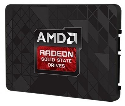 """Внутренний SSD-накопитель AMD RADEON-R7SSD-120G 120Gb 2.5"""" SATA-III, Черный"""