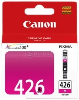 Картридж Canon CLI-426M для Canon Pixma IP4840 MG5140 MG5240 MG6140 MG8140, Пурпурный ciss ink cartridge pgi 425 cli 426 for canon pixma mg5140 mg5240 mg5340 ip4840 ip4940 mg6140 mg8140 mx884 ix6540