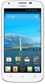 "Смартфон Huawei Ascend Y600 White (Android 4.2/MT6572 1300MHz/5.0"" (854x480)/512Mb/4Gb/ 3G (EDGE, HSDPA, HSPA+)) [Y600-U20 White] от Нотик"