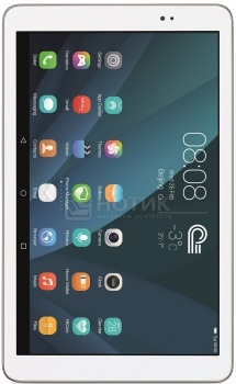 "Планшет Huawei MediaPad T1 10 LTE (Android 4.4/MSM8916 1200MHz/9.6"" 1280x800/1024Mb/16Gb/4G LTE ) [T1-A21L White/Silver] от Нотик"