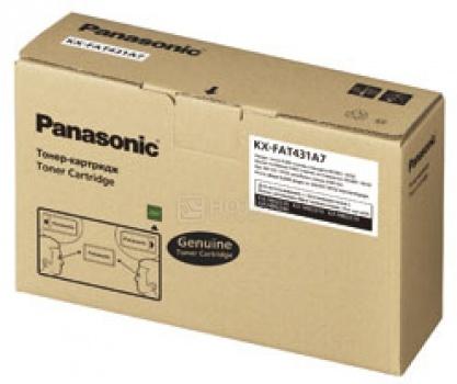 Картридж Panasonic KX-FAT431A7 для KX-MB2230/2270/2510/2540 6000стр, Черный