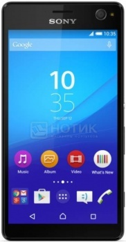 Смартфон Sony Xperia C4 Black (Android 5.0/MT6752 1700MHz/5.5 1920x1080/2048Mb/16Gb/4G LTE  ) [1296-9381]