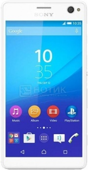Смартфон Sony Xperia C4 White (Android 5.0/MT6752 1700MHz/5.5