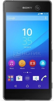 Смартфон Sony Xperia M5 Black (Android 5.0/MT6795 2000MHz/5.0 1920x1080/3072Mb/16Gb/4G LTE  ) [E5603 Black]