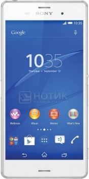 Защищенные смартфоны Sony Xperia Z3 Plus Dual White (Android 5.0/MSM8994 2000MHz/5.2 1920x1080/3072Mb/32Gb/4G LTE ) [E6533 White]