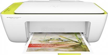 МФУ струйное цветное HP Deskjet Ink Advantage 2135, A4, 20/16 стр/мин, USB, Белый F5S29C