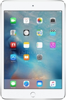 Планшет Apple iPad Mini 4 16Gb Wi-Fi Silver (iOS/A8 1500MHz/7.9 (2048x1536)/2048Mb/16Gb/ ) [MK6K2RU/A]Apple<br>7.9 Apple 1500 МГц 2048 Мб Flash drive 16 Гб iOS бат. - до 10.0 ч Серебристый<br>