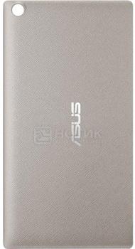 Чехол-накладка Asus Zen Case для ZenPad 8.0 Z380C/Z380KL, Поликарбонат, Серебристый 90XB015P-BSL3H0