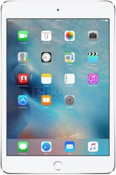 "Планшет Apple iPad Mini 4 128Gb Wi-Fi + Cellular Silver (iOS/A8 1500MHz/7.9"" 2048x1536/2048Mb/128Gb/4G LTE ) [MK772RU/A]"