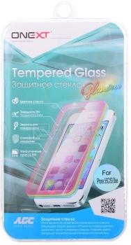Защитное стекло ONEXT для Apple iPhone 5/5C/5S/SE Royal Blue, Голубой 40742