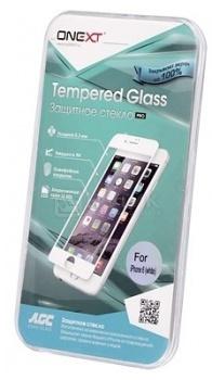 Защитное стекло ONEXT для Apple iPhone 6 с рамкой, Черный 40935