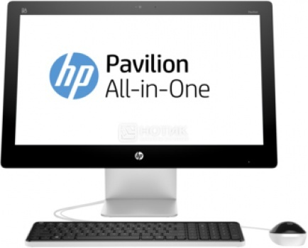 Моноблок HP Pavilion 23-q001ur (23.0 IPS (LED)/ Core i3 4170T 3200MHz/ 4096Mb/ HDD 1000Gb/ AMD Radeon R7 A360 4096Mb) MS Windows 8.1 (64-bit) [M9L12EA] от Нотик