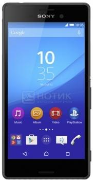 Защищенные смартфоны Sony Xperia M4 Aqua Dual E2312 Black (Android 5.0/MSM8939 1500MHz/5.0 1280x720/2048Mb/8Gb/ 3G (EDGE, HSDPA, HSUPA)) [E2312 Black]