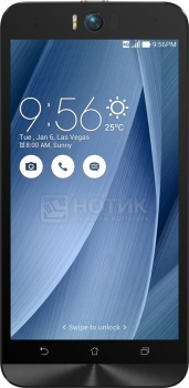 Смартфон Asus Zenfone Selfie ZD551KL (Android 5.0/MSM8939 1500MHz/5.5 1920x1080/2048Mb/16Gb/4G LTE ) [90AZ00U6-M01290]