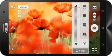 Смартфон Asus Zenfone 2 Laser ZE500KL (Android 5.0/MSM8916 1200MHz/5.0 (1280x720)/2048Mb/16Gb/4G LTE 3G (EDGE, HSDPA, HSPA+)) [90AZ00EB-M01240]Asus<br>5.0 Qualcomm 1200 МГц 2048 Мб Flash drive 16 Гб Android 5.0 бат. - до 18.0 ч Серебристый<br>