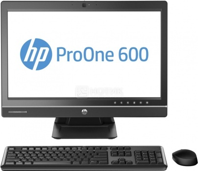 Моноблок HP ProOne 600 G1 (21.5 IPS (LED)/ Core i5 4590S 3000MHz/ 4096Mb/ HDD 1000Gb/ AMD Radeon HD 7650A 2048Mb) MS Windows 7 Professional (64-bit) [J7D63EA]