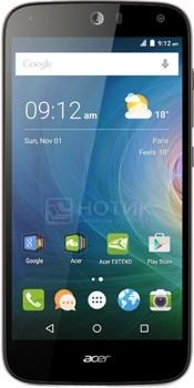 Смартфон Acer Liquid Z630 Silver (Android 5.1/MT6735 1300MHz/5.5