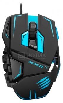 """Мышь проводная Mad Catz M.M.O. TE Gaming Mouse USB, 8200dpi, Черный + подарок от """"World of Tanks"""" MCB437140002/04/1 от Нотик"""