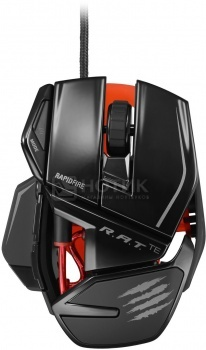 Мышь проводная Mad Catz R.A.T. TE Gaming Mouse USB, 8200dpi, Черный MCB4371400C2/04/1Mad Catz<br>Мышь проводная Mad Catz R.A.T. TE Gaming Mouse USB, 8200dpi, Черный MCB4371400C2/04/1<br>