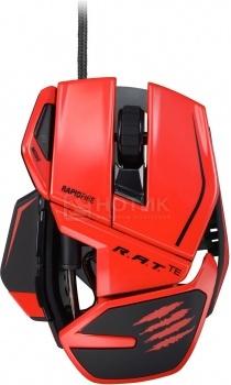 Мышь проводная Mad Catz R.A.T. TE Gaming Mouse USB, 8200dpi, Красный MCB437040013/04/1 от Нотик