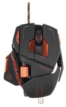 """Мышь проводная Mad Catz M.M.O. 7 Gaming Mouse USB, 6400dpi, Черный + подарок от """"World of Tanks"""" MCB437130002/04/1 от Нотик"""