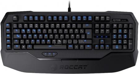 Клавиатура проводная ROCCAT Ryos MK Pro Blue MX, Черный ROC-12-861-BE