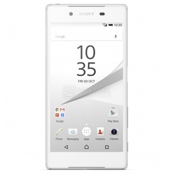 Защищенные смартфоны Sony Xperia Z5 White (Android 5.1/MSM8994 2000MHz/5.2 1920x1080/3072Mb/32Gb/4G LTE  ) [E6653White]