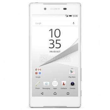 Защищенные смартфоны Sony Xperia Z5 White (Android 5.1/MSM8994 2000MHz/5.2