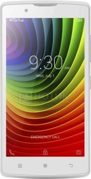 Смартфон Lenovo A2010 White (Android 5.1/MT6735M 1000MHz/4.5