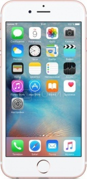 "Фотография товара смартфон Apple iPhone 6s Plus 128Gb Rose Gold (iOS 9/A9 1840MHz/5.5"" 1920x1080/2048Mb/128Gb/4G LTE  ) [MKUG2RU/A] (41757)"