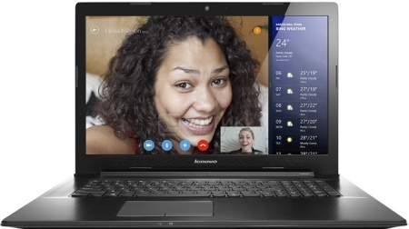 Ноутбук Lenovo IdeaPad G7080 (17.3 LED/ Celeron Dual Core 3205U 1500MHz/ 4096Mb/ HDD 500Gb/ Intel HD Graphics 64Mb) Linux OS [80FF005ERK]