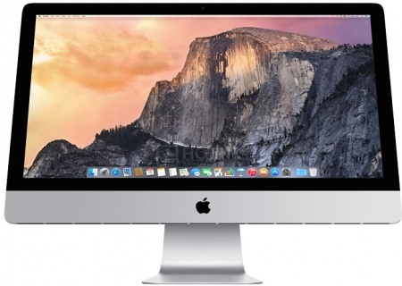 Моноблок Apple iMac MK482RU/A (27.0 IPS (LED)/ Core i5 6600 3300MHz/ 8192Mb/ Fusion Drive 2000Gb/ AMD Radeon R9 M395 2048Mb) Mac OS X 10.11 (El Capitan) [MK482RU/A]