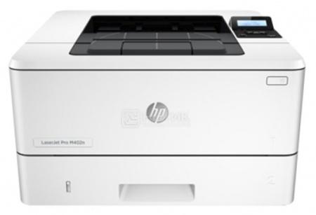 Принтер лазерный монохромный HP LaserJet Pro M402dn, A4, ADF, 38 стр/мин, 128Мб, USB, LAN, Черный G3V21A принтер лазерный цветной hp color laserjet pro cp5225n a3 20 стр мин 192мб usb lan белый ce711a