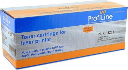 Картридж ProfiLine PL-CE320A для HP LaserJet CP1525N/1525NW CM1415/1415FNW 2000 стр, Черный