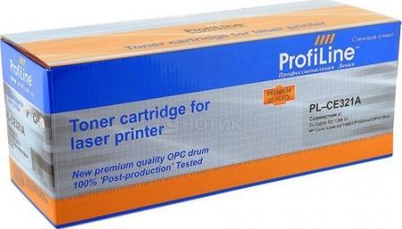Картридж ProfiLine PL-CE321A для HP LaserJet CP1525N/1525NW CM1415/1415FNW 1300 стр, Голубой, арт: 41913 - ProfiLine