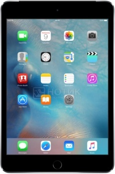 "Планшет Apple iPad Mini 4 128Gb Wi-Fi + Cellular Space Gray (iOS/A8 1500MHz/7.9"" 2048x1536/2048Mb/128Gb/4G LTE ) [MK762RU/A]"