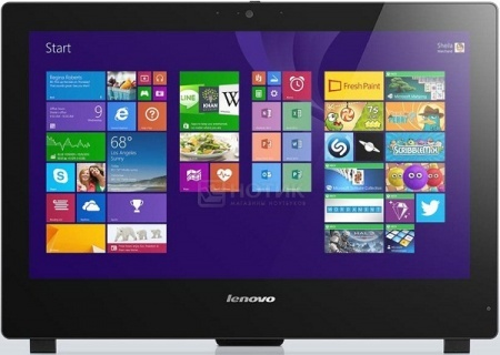 Моноблок Lenovo S50-30 (23.0 LED/ Core i5 5200U 2200MHz/ 4096Mb/ HDD 500Gb/ NVIDIA GeForce GT 820A 2048Mb) Free DOS [F0BA003YRK]