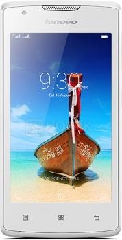 Смартфон Lenovo A1000 White (Android 5.0/SC7731 1300MHz/4.0