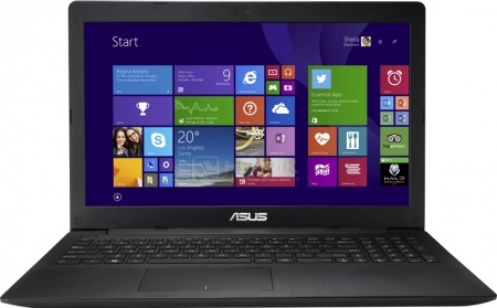 Ноутбук Asus P553MA (15.6 LED/ Celeron Dual Core N2840 2160MHz/ 2048Mb/ HDD 500Gb/ Intel HD Graphics 64Mb) MS Windows 8.1 (64-bit) [90NB04X6-M27690]