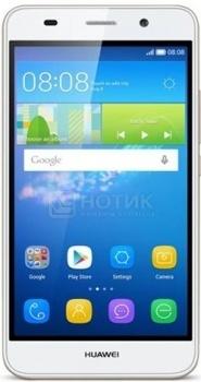 "Смартфон Huawei Y6 White (Android 5.1/MSM8909 1100MHz/5.0"" (1280x720)/1024Mb/8Gb/ 3G (EDGE, HSDPA, HSPA+)) [SCL-U31 White] от Нотик"