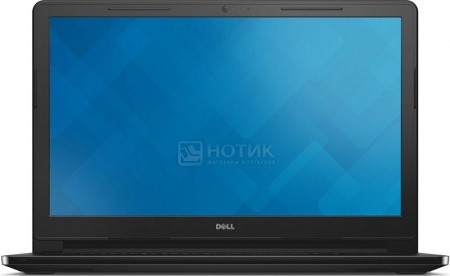Ноутбук Dell Inspiron 3552 (15.6 LED/ Celeron Dual Core N3050 1600MHz/ 2048Mb/ HDD 500Gb/ Intel HD Graphics 64Mb) Linux OS [3552-5864]Dell<br>15.6 Intel Celeron Dual Core N3050 1600 МГц 2048 Мб DDR3-1600МГц HDD 500 Гб Linux OS, Черный<br>