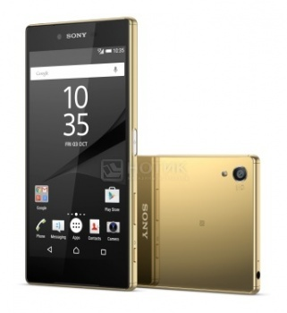 Защищенные смартфоны Sony Xperia Z5 Premium Dual Gold (Android 5.1/MSM8994 2000MHz/5.5 3840x2160/3072Mb/32Gb/4G LTE ) [E6883Gold]