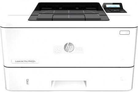 Принтер лазерный монохромный HP LaserJet Pro M402n, A4, ADF, 38 стр/мин, 128Мб, USB, LAN, Белый C5F93A принтер лазерный цветной hp color laserjet pro cp5225n a3 20 стр мин 192мб usb lan белый ce711a