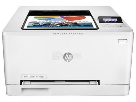 Принтер лазерный цветной HP LaserJet Pro 200 M252n, A4, 18 стр/мин, 128Мб, USB, LAN, Белый B4A21A