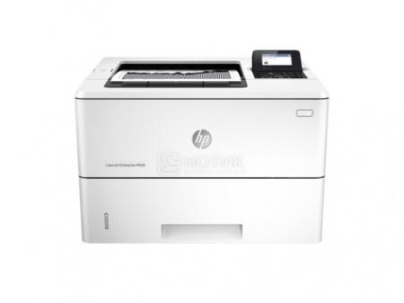 Принтер лазерный монохромный HP LaserJet Enterprise M506dn, A4, 43 стр/мин, 512Мб, USB, LAN, Белый F2A69A принтер hp color laserjet enterprise m652dn