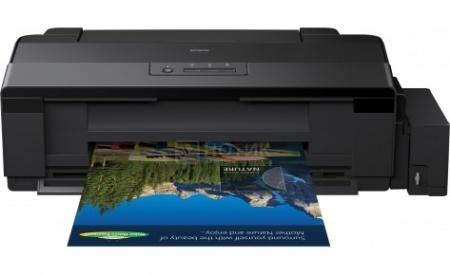 Принтер струйный цветной Epson L1800, A3,15/15 стр/мин, USB,Черный C11CD82402