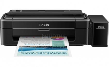 Принтер струйный цветной Epson L312, A4,33/15 стр/мин, USB,Черный C11CE57403
